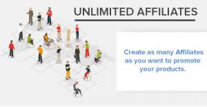 Unlimited affiliates